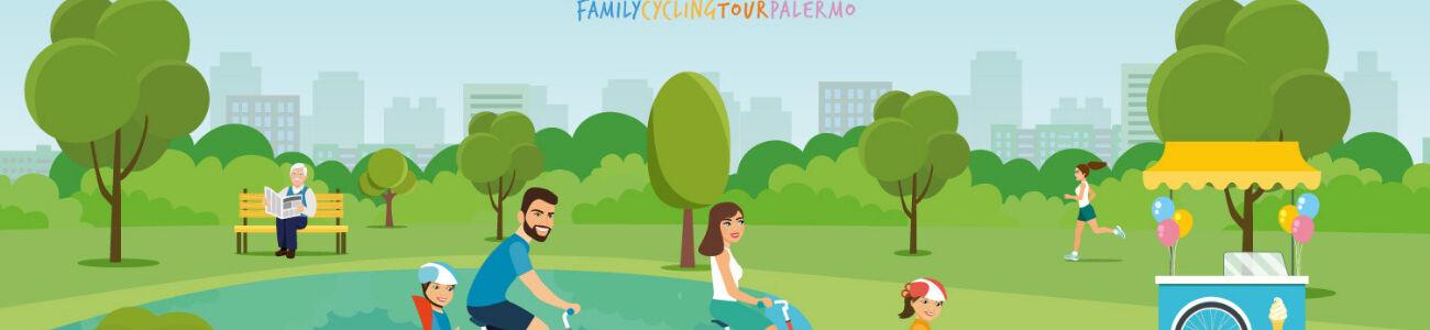 FAMILY RIDE IN THE 'PARCO DELLA FAVORITA'
